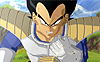 Vegeta crushes his scouter