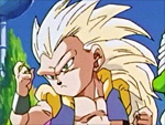 Gotenks as Super Saiyan 3